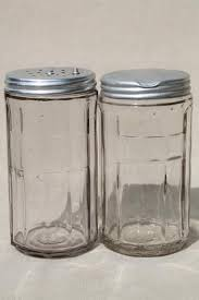 glass kitchen canisters hoosier jars depression glass kitchen canisters for coffee tea