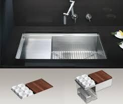 modern stainless steel kitchen sinks kitchen modern kitchen decoration using black slated kitchen
