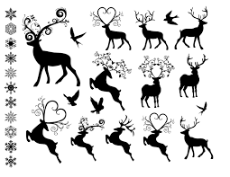 16 christmas ornament clipart black and white merry christmas