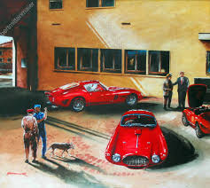 ferrari factory ferrari gallery 1 original fine art paintings by robert mittenmaier
