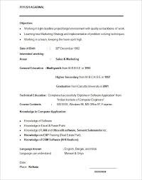 Mccombs Resume Template Mba Resume Format Mba Resume Template 11 Free Samples Examples