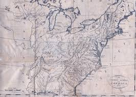 Eastern United States Road Map by 1795 To 1799 Pennsylvania Maps