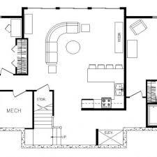 rectangular house plans modern beach style house plan 3 beds 4 baths 2201 sq ft plan 443 4