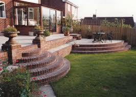 walls and steps garden features haywood landscapes ltd