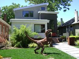 lawn velociraptor in slc utah lawndinosaur