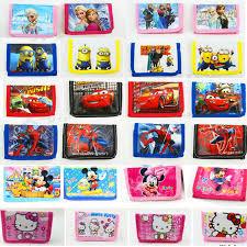 2 pcs lot wallet students cartoon princess barbie ma