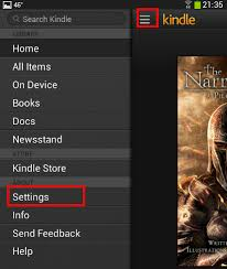 is kindle android how to setup up the kindle app on an android based device