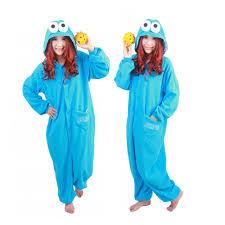 Blue Monster Halloween Costume Aliexpress Buy Fleece Blue Sesame Street Elmo Monster