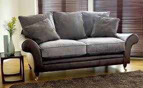 Leather Sofa Cushions Sofa Design Ideas Cloth Leather Or Fabric Sofa With Impressive