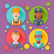 tutorial vector c how to create flat profession avatars in adobe illustrator adobe