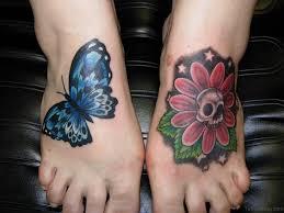 50 outstanding skull tattoos on foot