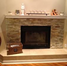 new free stacked stone fireplace wall 4025