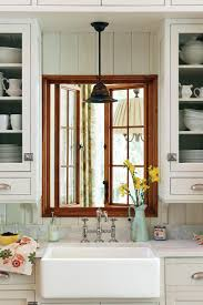 farmhouse sinks with vintage charm southern living earthy kitchen sink