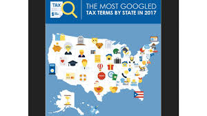 Most Googled How To The Most Googled Tax Searches For Every State Cpa Practice Advisor