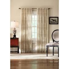 home decorators collection teal slub faux silk back tab curtain
