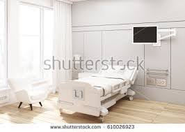 pics of a tv side view hospital ward bed tv stock illustration 599432846