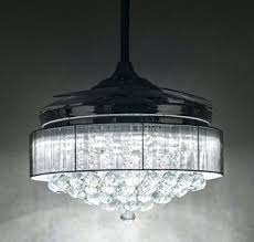 Retractable Ceiling Light Ceiling Fan Retractable Fans Blade With Regard To Stylish