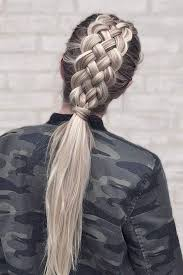 whats new in braided hair styles the ultimate hair hack to instantly make your plait prettier