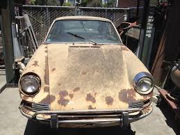 porsche 911 for sale craigslist see where they rust 1968 porsche 911 sportomatic bring a trailer