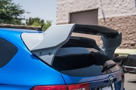 subaru wrx hatchback spoiler new carbon fiber rally wing for subaru wrx sti hatchback u2013 agency