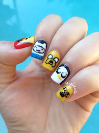 adventure time nails naildawdle