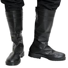classic motorcycle boots amazon com kylo ren boots deluxe movie cosplay black pu