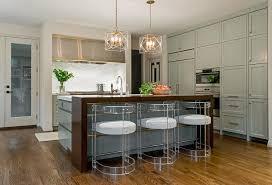 walnut kitchen island stainless steel kitchen with gold trim contemporary kitchen