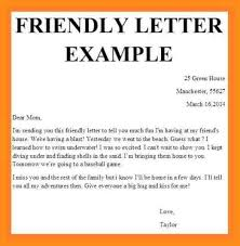 5 friendly letters example resume setups
