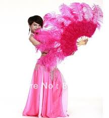 large feather fans buy large ostrich feather fan christmas decoration