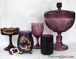Amethyst Glass Vase The Color Purple Or Amethyst In Antique Glass Peachridge Glass