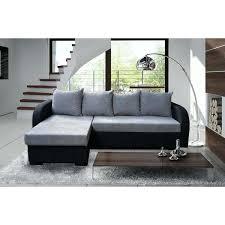 canapé d angle noir et gris canape d angle gris et noir canape d angle noir convertible canapac
