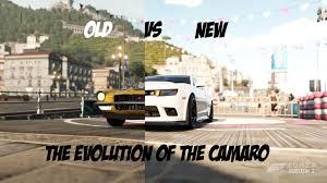 evolution of the chevy camaro forza horizon 2 the evolution of the camaro vs