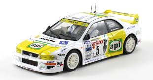 subaru wrc logo subaru impreza wrc api rally lana 2001 scaleauto u2022 1 32 u0026 1 24
