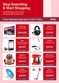 ebay reveals cyber 5 deals stands by guaranteed price matching