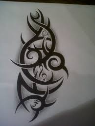 tribal tattoo design with music note by tattoosuzette on deviantart