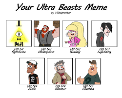 Gravity Falls Meme - gravity falls ultra beasts meme by yell0w diamond on deviantart