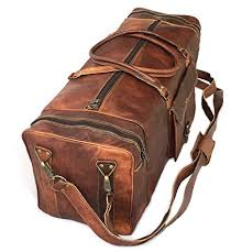 travel luggage bags images 28 quot inch real goat vintage leather large handmade jpg