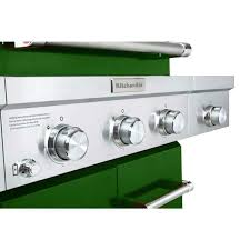 Kitchen Aid Gas Grill by New In Box Kitchenaid 3 Burner Propane Gas Grill In Green With