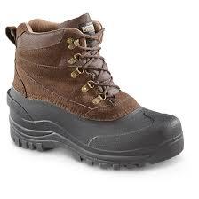 guide gear men u0027s insulated winter boots 600 grams 672838