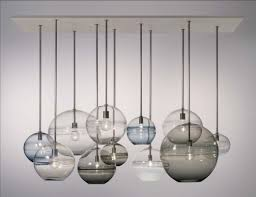 Glass Balls Chandelier Chandelier Modern Blown Glass Editonline Us