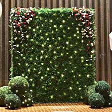wedding backdrop green wedding green wall photobooth backdrop design craft others on