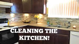 how to deep clean your kitchen kitchen cleaning tutorial youtube