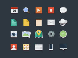 Resume Icons Free 60 Free Flat Icons In Different Shapes Psd Vector