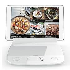 balance de cuisine aubecq aubecq balance de cuisine avec support i pad ou tablette amazon