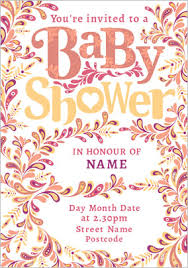 baby shower cards baby shower cards invitations funky pigeon