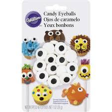 Edible Eyes Cake Decorating Large Candy Eyeballs Wilton