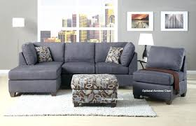 Sectional Sofa Grey Gray Microfiber Sectional Sofa With Chaise Dorel Asia Grey