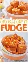 candy corn fudge parenting chaos