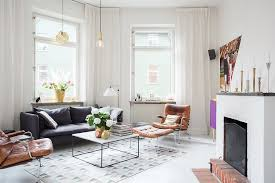 Modern Swedish Apartment With Snazzy Scandinavian Charm - Swedish apartment design
