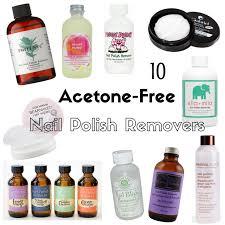 10 acetone free vegan nail polish removers vegan beauty review